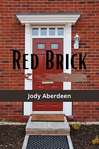 Red Brick book cover of brick house with red door